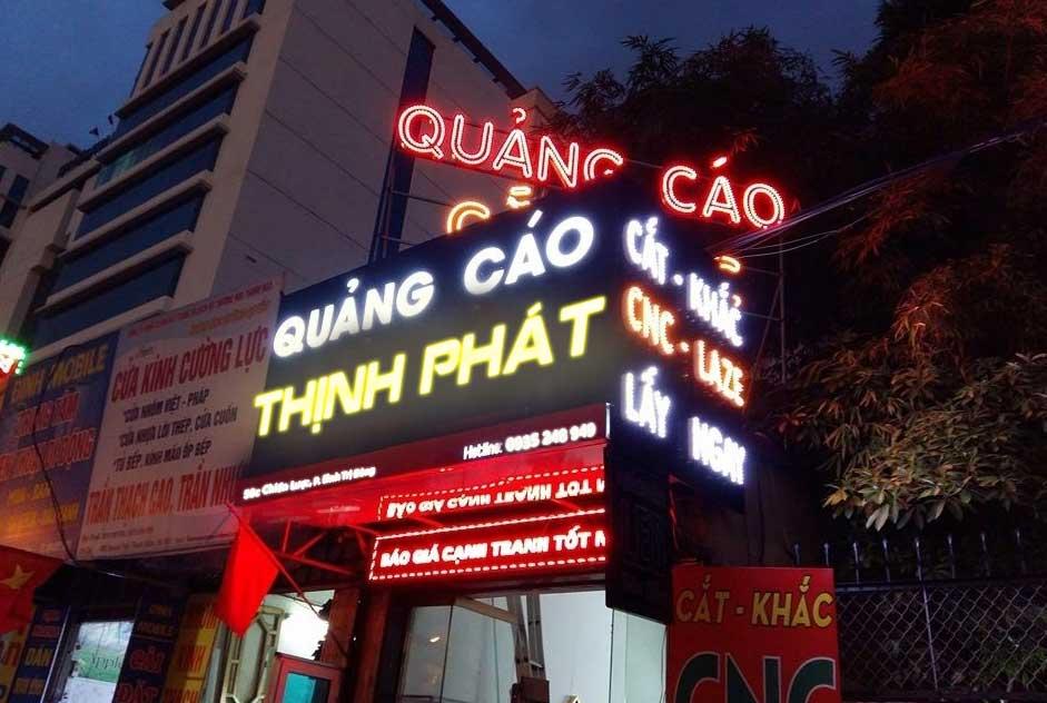 Công ty quảng cáo nội thất Tịnh Phát