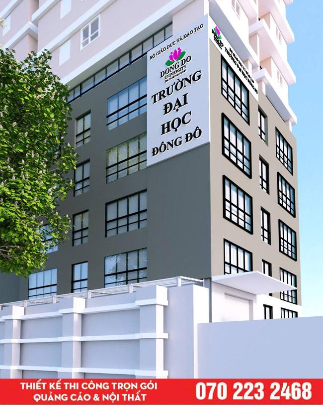 Bảng hiệu quảng cáo tòa nhà