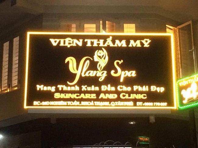 Làm bangr quảng cáo Spa quận Tân Phú