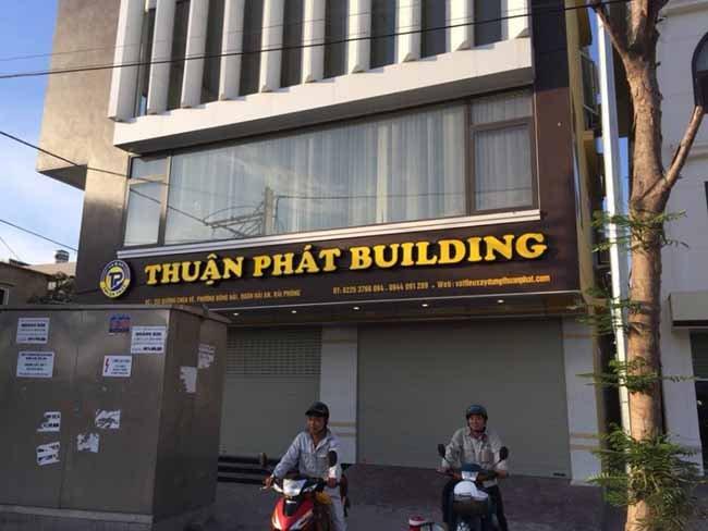 Thi công mặt dựng alu chuyên nghiệp quận Tân Phú