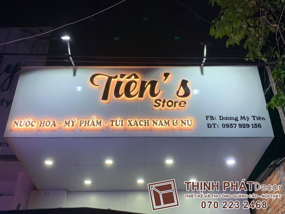 Làm bảng hiệu spa chuyên nghiệp tại quận Tân Phú