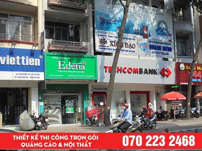 Làm bảng hiệu giá rẻ quận Tân Phú.