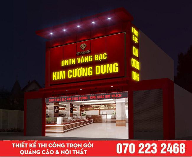 Mẫu bảng hiệu quảng cáo đẹp