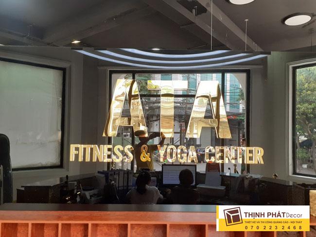 Làm bảng quảng cáo phòng tập Gym quận Bình Thạnh