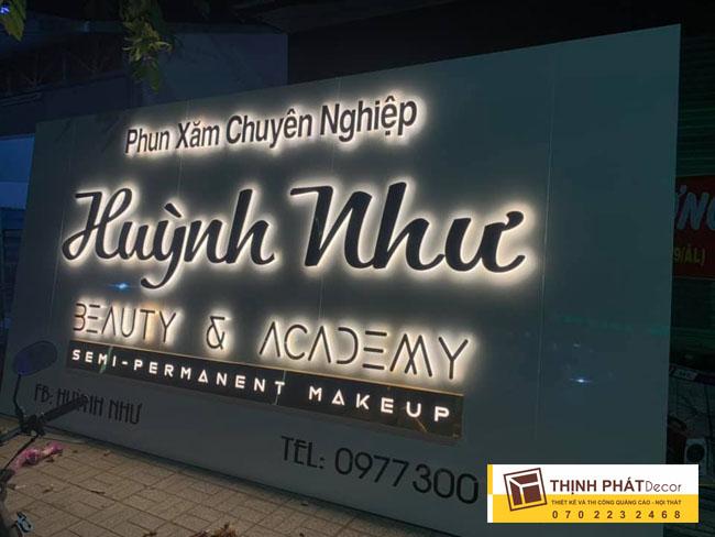 Mẫu bảng hiệu quảng cáo thẩm mỹ viện spa đẹp nhất