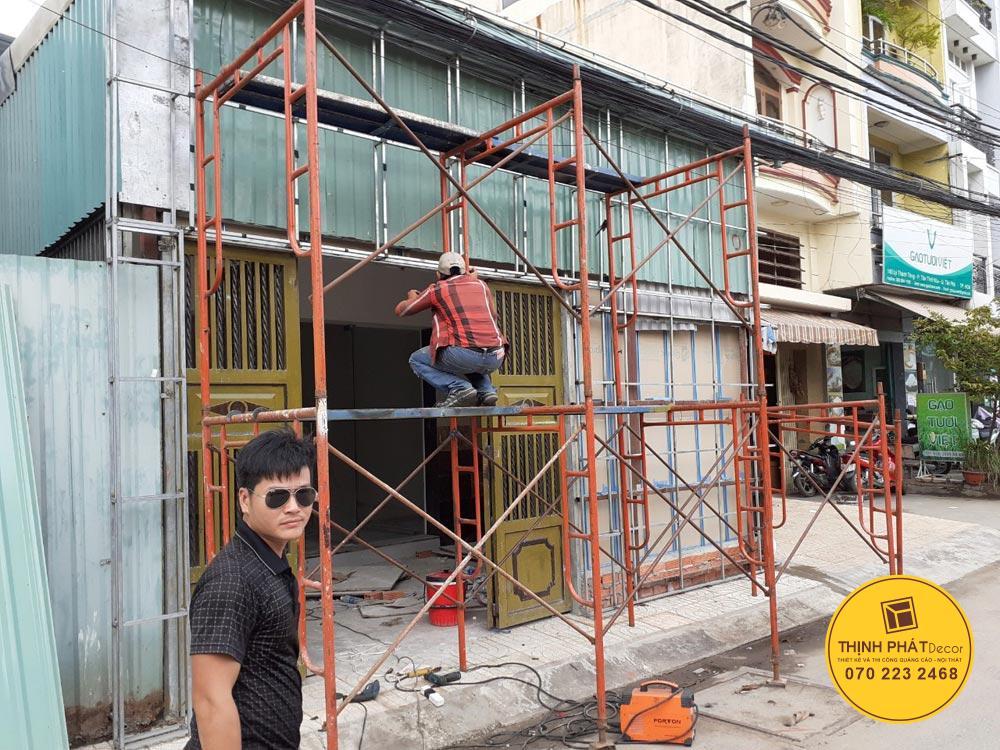 Làm bảng hiệu quảng cáo quận Bình Tân