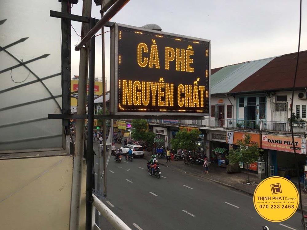 Thi công bảng hiệu quảng cáo TPHCM