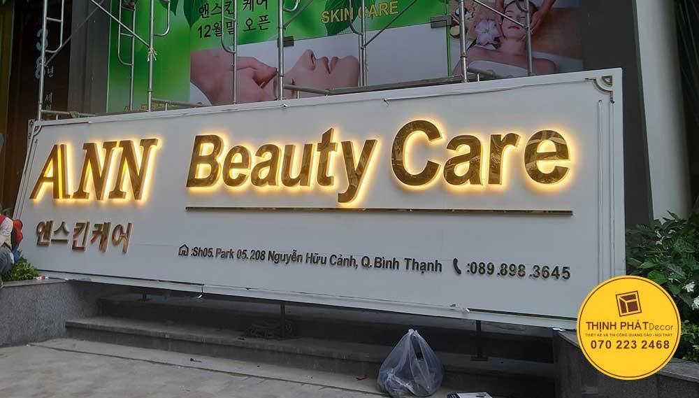 Mẫu bảng hiệu quảng cáo đẹp, giá rẻ