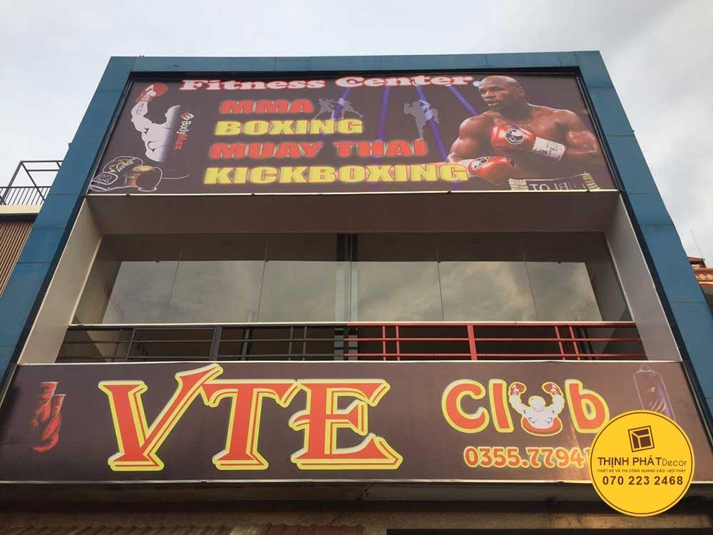 Làm bảng hiệu quảng cáo in bạt hiflex mặt quận Tân Phú