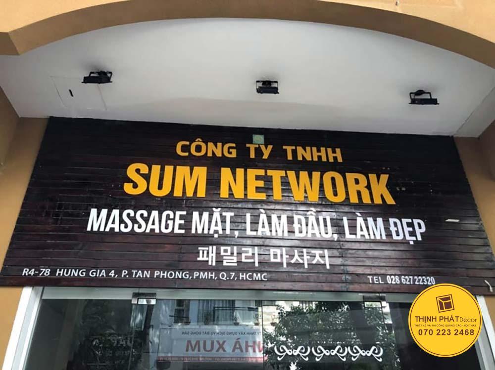 Mẫu bảng hiệu quảng cáo đẹp giá rẻ tại TPHCM