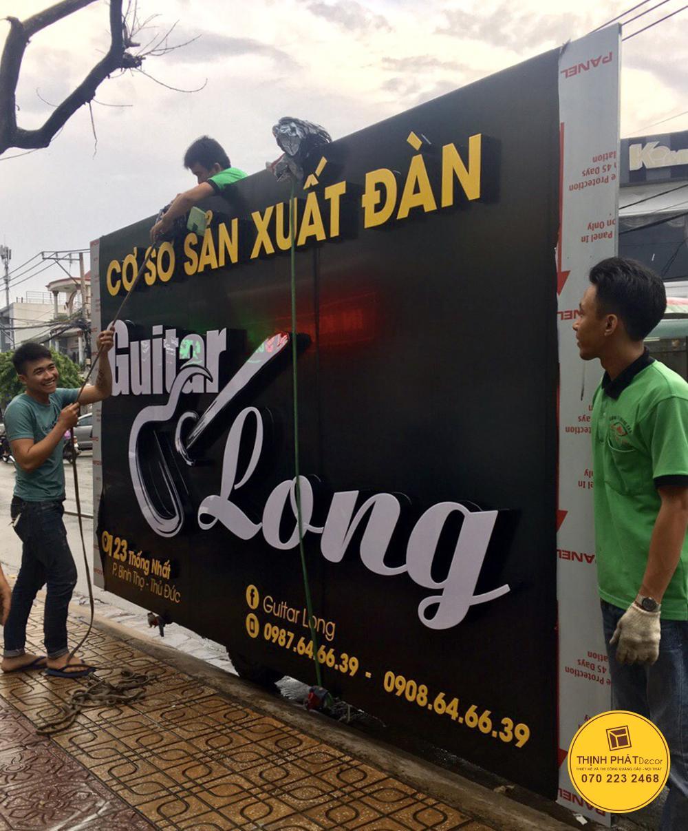 Làm bảng hiệu giá rẻ quận Bình Tân