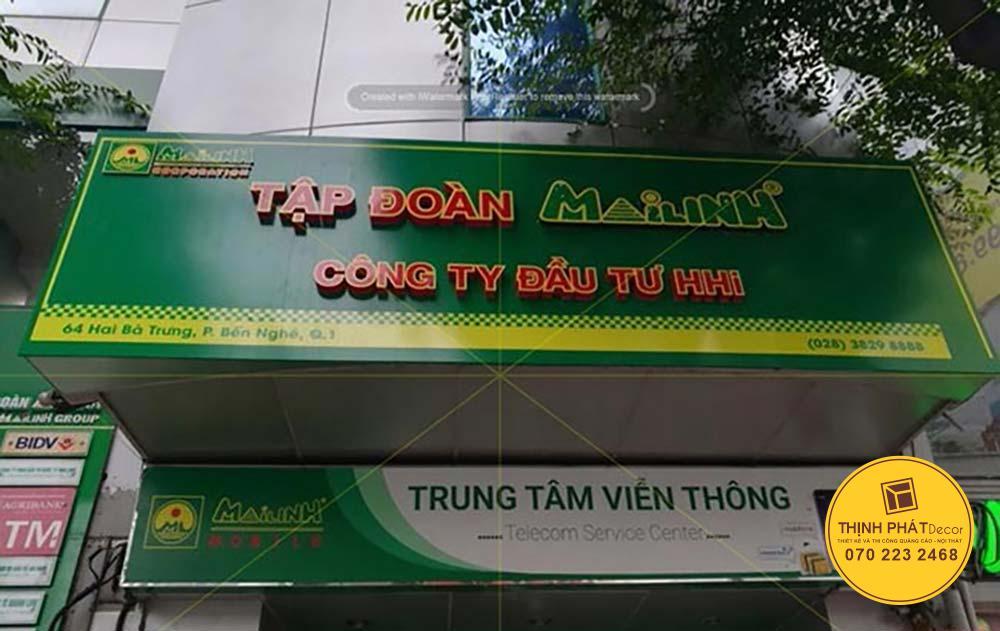 Làm bảng quảng cáo bạt Hiflex quận Tân Phú
