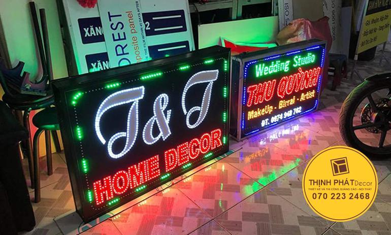 Mẫu bảng hiệu quảng cáo giá rẻ tại TPHCM