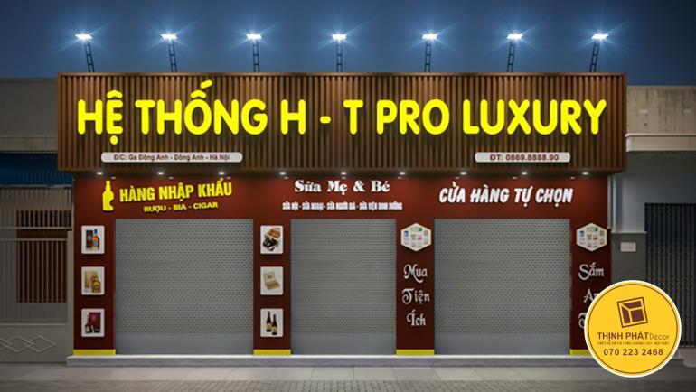 Mẫu bảng hiệu quảng cáo giá rẻ đẹp tại TPHCM