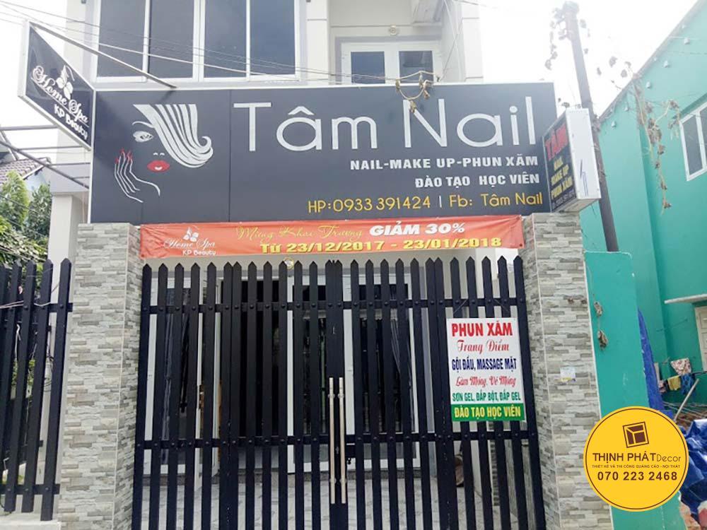 Mẫu bảng hiệu quảng cáo giá rẻ spa nail