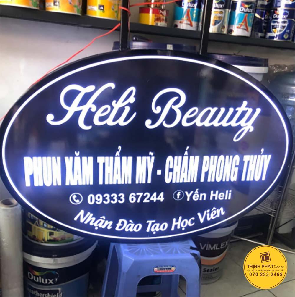 Mẫu hộp đèn quảng cáo đẹp, giá rẻ tại TPHCM