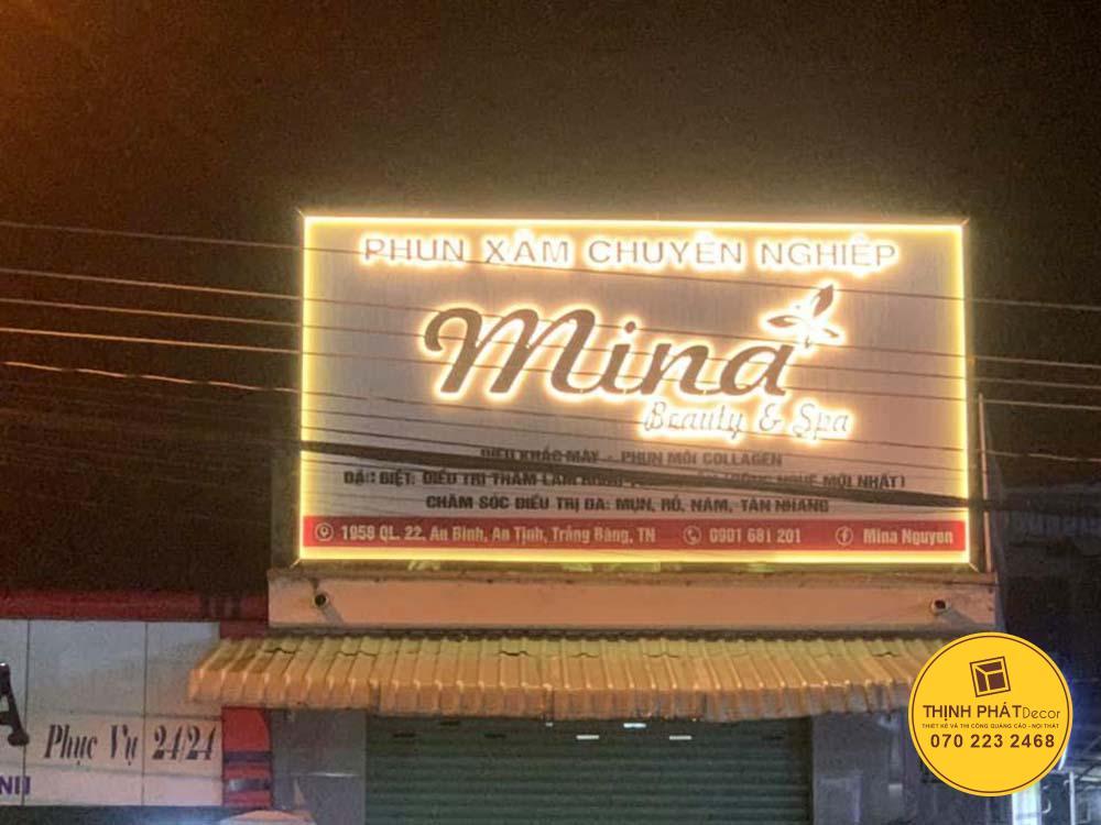 Mãu bảng hiệu quảng cáo đẹp giá rẻ tại TPHCM